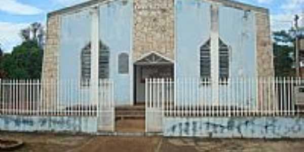 Rio Branco-MT-Fachada antiga da Igreja-Foto:picasaweb.