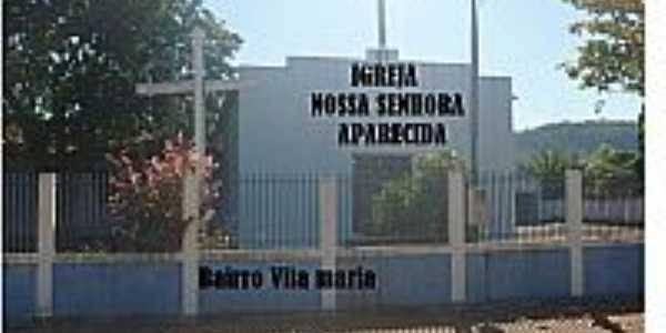 Rio Branco-MT-Igreja de N.Sra.Aparecida no Bairro Vila Maria-Foto:riobranco.mt