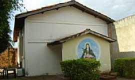 Rondon�polis - Igreja Santa Luzia no Jardim Ipanema em Rondon�polis-Foto:Eduardo Gomes de Andrade