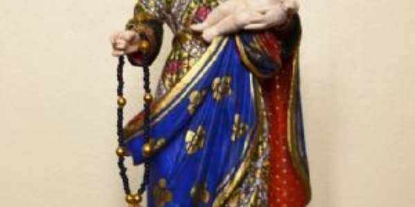 Antiga imagem de Nossa Senhora do Rosário  trazia pelo casal fundador Sr. Inácio e Dona Maria Francisca em 1751, Por mailson rich