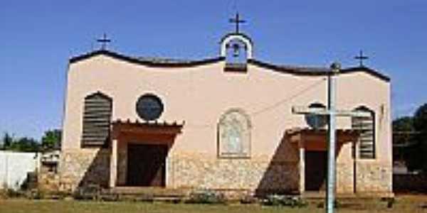 Igreja Nossa Senhora do Carmo na Vila Santa Elvira-Foto:Eduardo Gomes de Andrade[Blog]