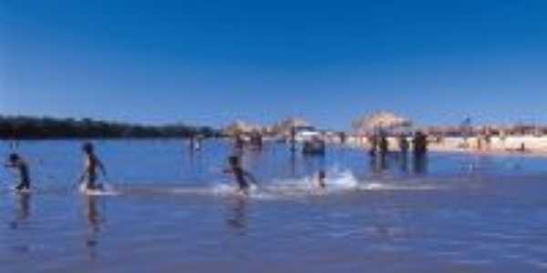 Praia das Gaivotas-Rio Araguaia -Teporada de julho, Por João Evilson Barbosa Sandes