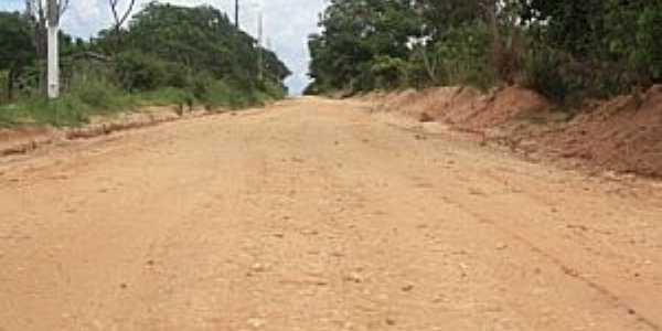 Santaninha-MT-Estrada rural-Foto:www.arenapolisnews.com.br