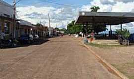 São Félix do Araguaia - Av.Araguaia em São Félix do Araguaia-MT-Foto:Ludmila_Miranda