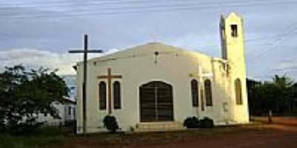 Igreja no Birro,São José do Planalto-Foto:Leandro A lluciano