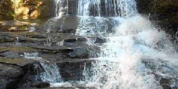 São Lourenço de Fátima-MT-Cachoeira de São Lourenço-Foto:Imprensa de Plantão