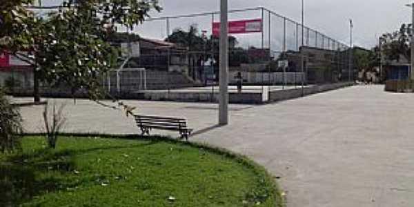 Buris de Abrantes-BA-Praça central-Foto:Bruno S.