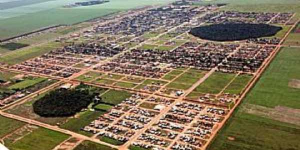 Imagens da cidade de Sapezal - MT