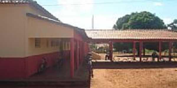 Escola Estadual Antônio Carlos Moura em Serra Nova Dourada-Foto:gerselei