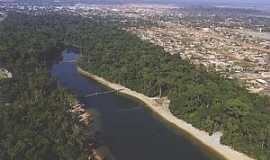 Sinop - Sinop-Mt-Vista aérea do Parque Florestal e cidade-Foto:Clayrton Schudiken