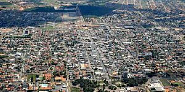 Sinop-Mt-Vista aérea da cidade-Foto:Paulo Tabile