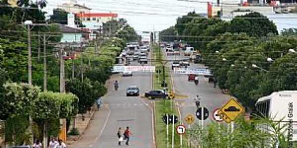 Sorriso-MT-Avenida Tencredo Neves-Foto:rothis