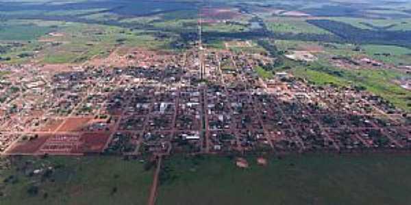 Imagens da cidade de Tabaporã - MT