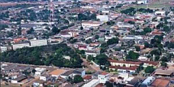 Tabaporã-MT-Vista aérea da cidade-Foto:www.24horasnews.com.br