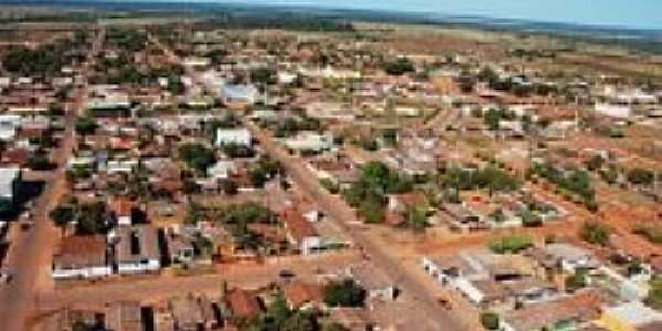 Tabaporã-MT-Vista aérea parcial da cidade-Foto:www.portonoticias.com.br