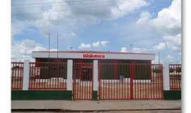 Buritirama - Buritirama-BA-Biblioteca Municipal-Foto:beto viana