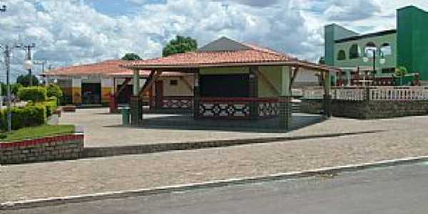 Buritirama-BA-Praça da Matriz-Foto:beto viana