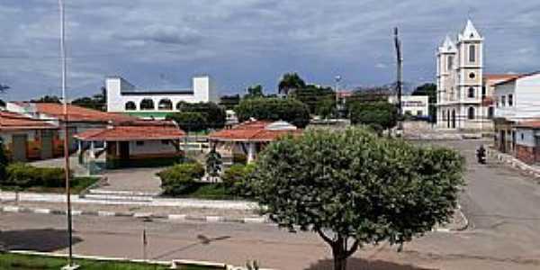 Imagens da cidade de Buritirama - BA