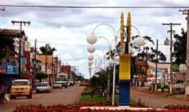 Tapurah - Av.Romualdo Allevi em Tapurah-MT-Foto:Edson Walter Cavalar…
