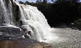 Torixoréu - Cachoeira no Rio São Domingos em Torixoréu-MT-Foto:elizeualmeidafesa