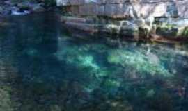 Vila Bela da Santíssima Trindade - Belos poções, com águas cristalinas, Por Elba C. Passini