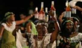 Vila Bela da Sant�ssima Trindade - Dan�a do Chorado com a garrafa na cabe�a,  quest�o de equil�brio!!!, Por Elba C. Passini