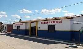 Cabaceiras do Paraguaçu - Cabaceiras do Paraguaçu-BA-Escola Estadual Oliveira Machado-Foto:Anderson Bella