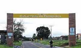 Cabaceiras do Paraguaçu - Cabaceiras do Paraguaçu-BA-P[órtico de entrada-Foto:vanezacomz.blogspot.com
