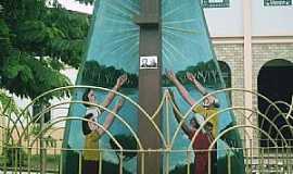 Abaetetuba - Abaetetuba-PA-Monumento na Praça da Matriz de N.Sra.de Nazaré-Foto:Rui Santos