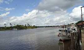 Acará - Acará-PA-Barcos na orla-Foto:PEDRO (Pedrão)