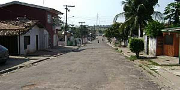 Acará-PA-Rua Benjamin Constant-Foto:joelsvaz
