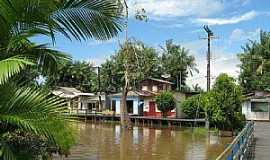 Afuá - Afuá-PA-A cidade e o rio-Foto:Alexandre Santos