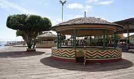 Afuá - Afuá-PA-Coreto no centro da cidade-Foto:Felix Junior