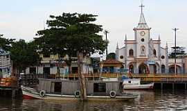 Afuá - Afuá-PA-Matriz de N.Sra.da Conceição-Foto:Ilha do Marajó - WordPress.com