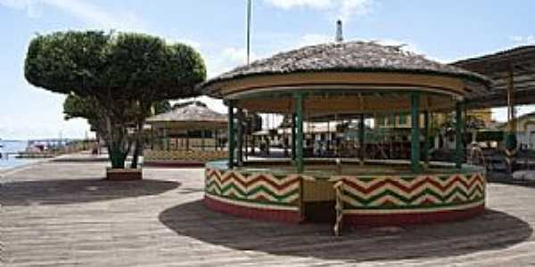 Afuá-PA-Coreto no centro da cidade-Foto:Felix Junior