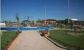 Água Azul do Norte - Água Azul do Norte-PA-Vista geral da Praça Vitória Santos-Foto:Ed Márcio