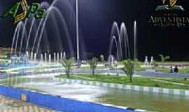 Água Azul do Norte - Fonte na Praça Vitória Santos-Foto:klebin_boidin
