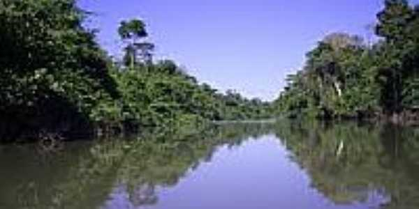 Rio Água Azul-Foto:aguaazuldonorte.pa.