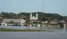 Alenquer - Vista do ancouradouro e parte da cidade de Alenquer-Foto:Spfc_Am
