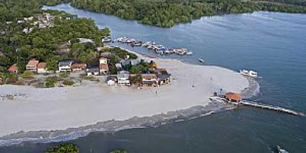 Imagens da Ilha de Algodoal Maracanã - PA