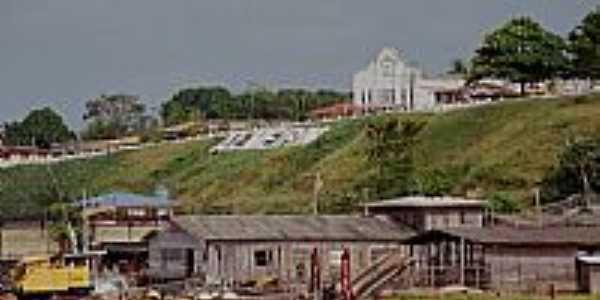 Vista da cidade de Almeirim-Foto:Ari Vicente