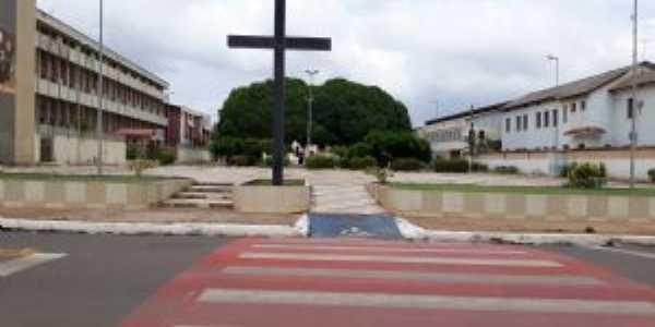 praça pio XII na orla da cidade, Por Portal Pérola do Xingu