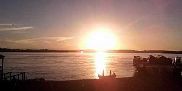 Altamira-PA-Pôr do Sol no Rio Xingu-Foto:★Ƹ̵̡Ӝ̵̨̄Ʒ CECILIA ♥♫