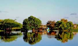 Alter do Chão - Canal do Jarí. Rio Amazonas., Por Claudio Chena