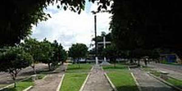 Cruzeiro na praça de Americano-Foto:PEDRO PAULO