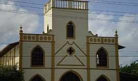 Ananindeua - Igreja de Nossa Senhora Auxiliadora no  Centro em Ananindeua - por Odilson Sá