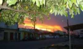 Ananindeua - P�r do sol visto da Cidade Nova, Por Fernando Macedo