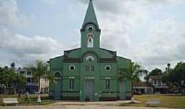 Baião - Praça e Igreja Matriz de Baião-PA-Foto:Carlos Fernando Mace…