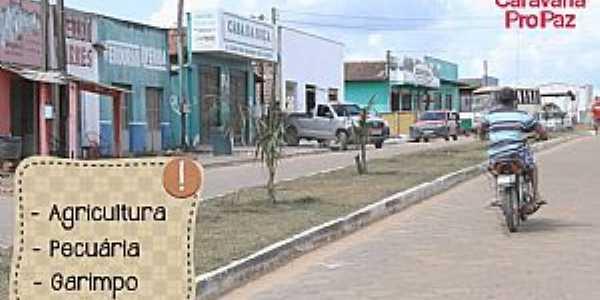 Bannach-PA-Avenida de entrada da cidade-Foto:Ag�ncia Par�