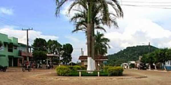Bannach-PA-Pra�a no centro-Foto:Luiz Pereira